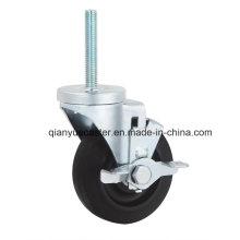 Roulette de roulement à roulement latéral, 125 mm