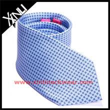 Hundezahn-Druck-Mode-Krawatte