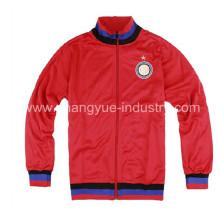 chándal de fútbol de nuevo estilo y chaquetas de diseño personalizado