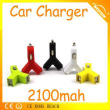 El mejor accesorio del coche de China de la venta 2.1amp cargador dual del coche del usb