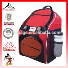 Mochila de basquete grande mochila elegante para basquete ou sapatos