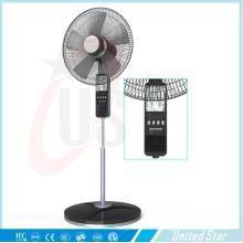 """Ventilador de ventilador recargable Solar de 16 """"de Unitedstar"""