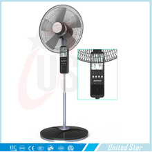 Unitedstar 16 '' Solar Rechargeble Support Ventilateur
