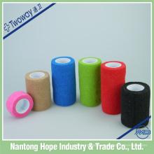 vendaje elástico de crepé de color autoadhesivo