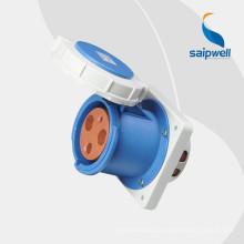 Высококачественная промышленная розетка 220В Saip / Saipwell IP67 с сертификацией CE (16А, 32А, 63А, 125А, 250А, 420А)