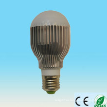 El poder más elevado caliente 220v 110v 100-240v SMD de la venta 5w B22 E26 E27 llevó el bulbo 24v