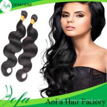 Großhandel Top-Qualität Menschenhaar Remy Virgin Hair Extension