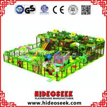Forest Style Kinder weichen Spielplatz mit Rutschen
