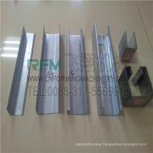 FX light gauge steel c u channel roll forming machine