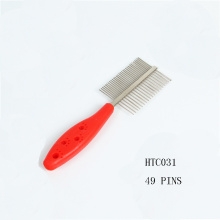 Pet Grooming Products Flea Brush Plastic Pet Comb