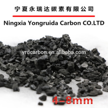 Nut shell activated carbon with well developed porous structure