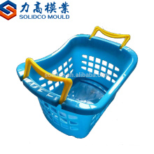 Zhejiang taizhou high quality household products plastic injection vegetable basket mould steel mould plastic factory