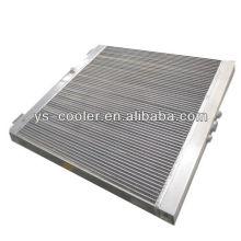 Profesional de aleación de aleta de aleación de calor mecánica del intercambiador de la empresa