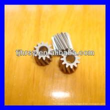 Pequeño engranaje helicoidal de cobre / cobre M0.5