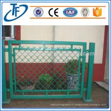 Vente directe en usine d'une clôture temporaire revêtue de pvc de haute qualité