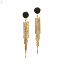 Fashion Women Anti Allergy Jewelry Tassel Fringe Earrings