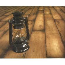 12.3mm Woodgrain Texture Maple V-Grooved Waxed Edged Laminated Floor
