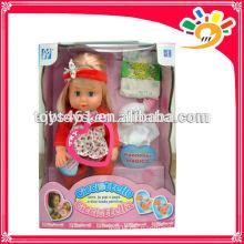 Mädchen Pee Puppe Baby Pee Puppe mit Flasche