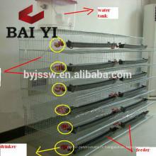 Cage enduite de caille de PVC à vendre
