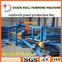 Линия по производству высококачественных сэндвич-панелей Dixin