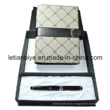 Sistema de la pluma del regalo, pluma del regalo del Metal con Notebook (LT-C514)