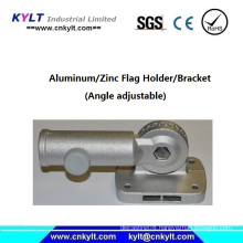 Aluminum Alloy Injection Angle Adjustable Flag Holder/Bracket