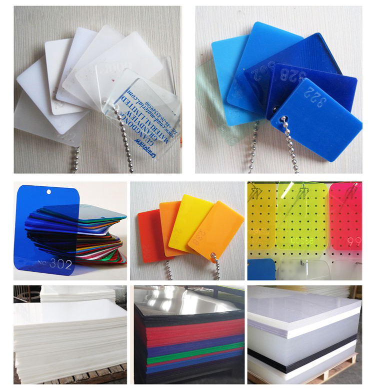 3mm Color Fluorescent Acrylic Sheet