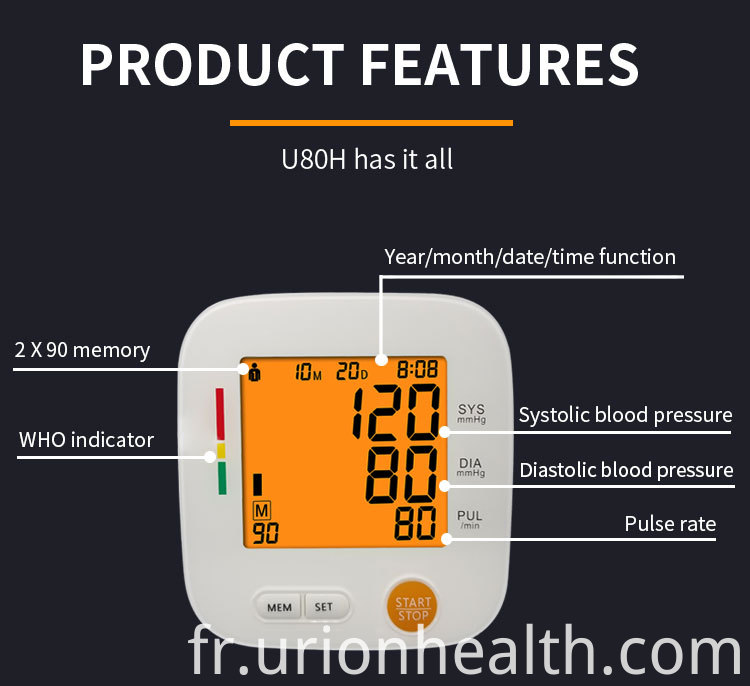 Blood Pressure Monitor Function