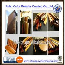 Übertragung von Thermo-Druck Pulver Farbe / Pulverbeschichtung