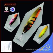 SNL030 - 3 China isca de pesca isca colher isca de pesca