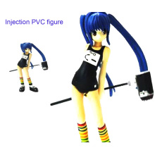 Beautiful Girl PVC Injection Figure Toys (ZB-019)