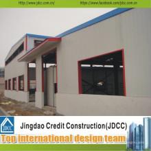 Entrepôt structurel en acier de haute qualité et à faible coût et bâtiment préfabriqué