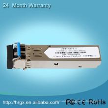 Módulo ótico do sfp do transceptor da segurança WDM 10G SFP da rede com BIDI
