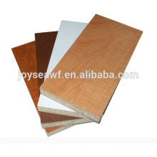 10x1220x2440MM melamine paper face/back chipboard/ particle board from Joy Sea