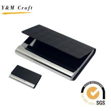 Высокое качество специальный кожаный визитной карточки владельца с Подгонянным Логосом