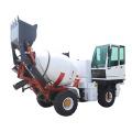 volumetric concrete mixer truck