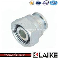 Adaptateur hydraulique de tuyau d'O-Ring de coude à haute pression
