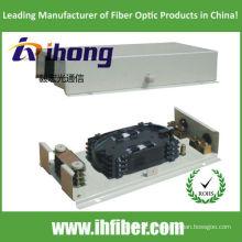 Caixa de parede ODF pigtail outlet 48 fibras