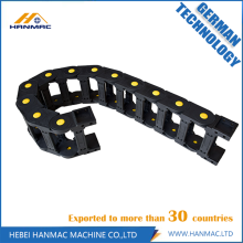 Cadena de arrastre de nylon de ingeniería para máquina herramienta