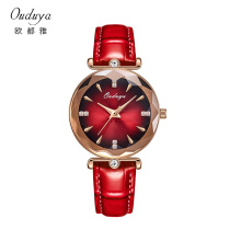 OUDUYA light luxury watch famous brandt lady`s watch