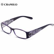 Cheap latest flower printing fashion women reading glasses