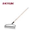 Big Promotion Garden Tools Different Types Of Rakes Steel Camping Rake Made In China