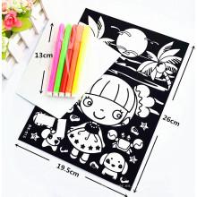 juguete coloreado personalizado colorante terciopelo borroso colorante carteles