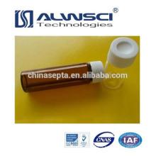 Fabrication 40ML EPA VOA Vial avec PP cap, verre borosilicate