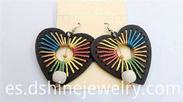 New Design Woven Thread Earring