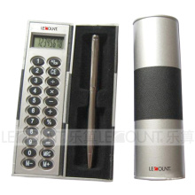 Säulenförmiger Taschenrechner mit einem Stift (LC851A)
