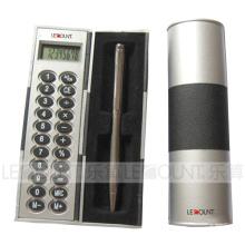 Calculatrice en forme de colonne avec un stylo (LC851A)
