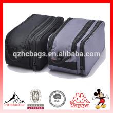 Cosméticos portáteis para homens e mulheres viajam saco com bolsa de malha bolsa de viagem de cosméticos (es-h495)