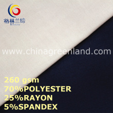 70%T/25%R Spandex Fabric for Garment Coat (GLLML445)