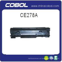Cartucho de tóner compatible CE278A para impresora láser HP